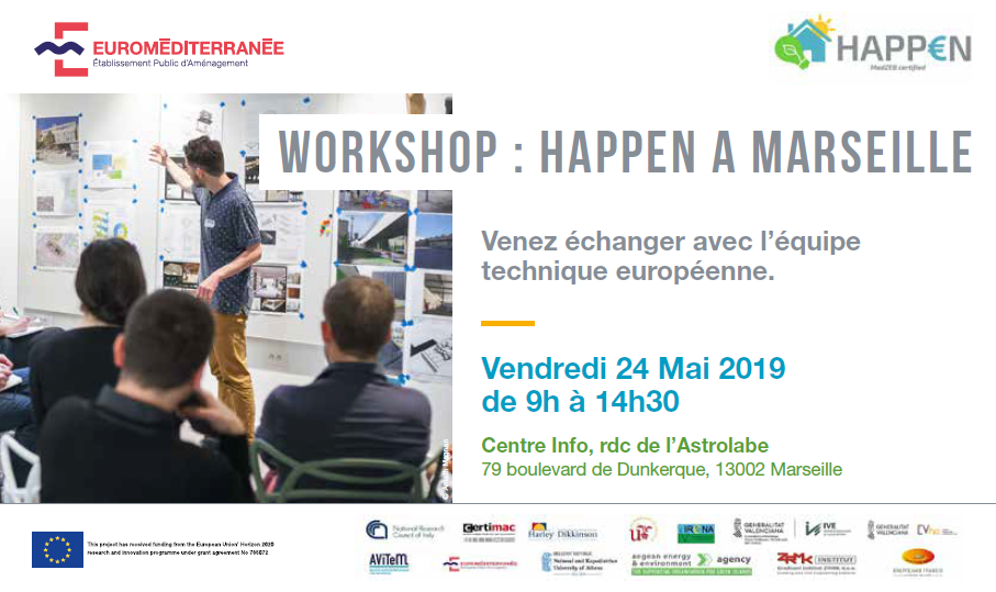 Happen - Workshop à Marseille